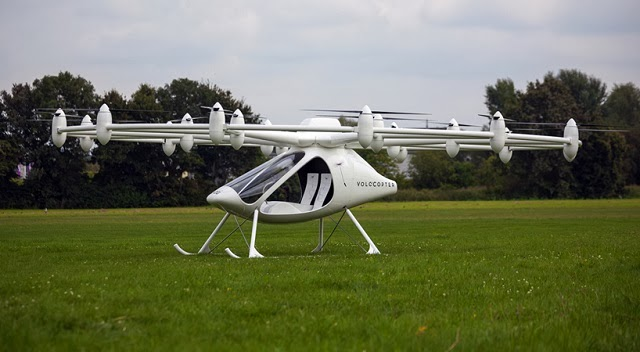 The First Electric Helicopter for maiden flight