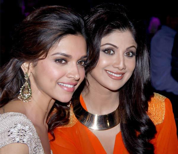 Deepika, Shilpa bond on Nach Baliye