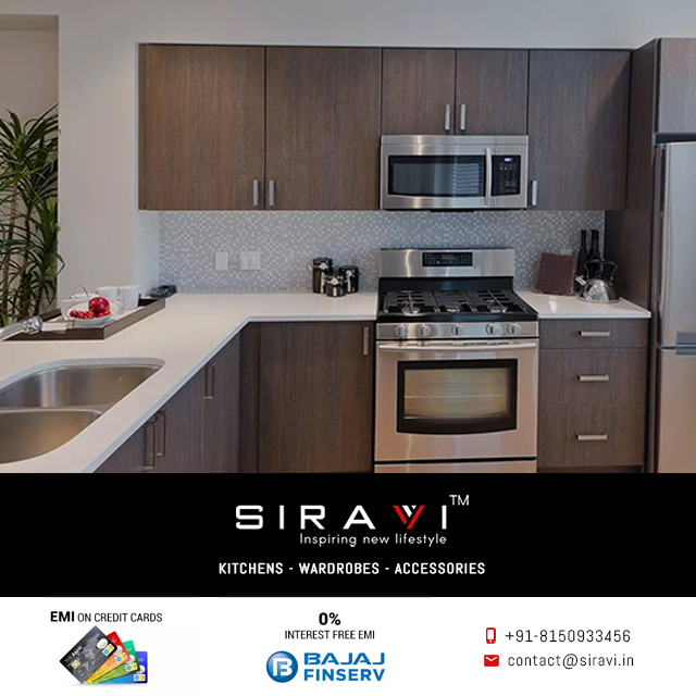 Siravi Modular Kitchen In Bangalore