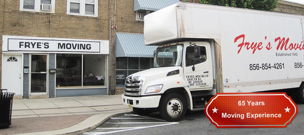 Frye's Moving - South Jersey